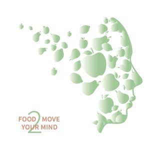 Logo Food 2 Move Your Mind